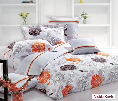 北欧風ベッドカバー