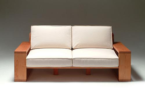 木製ソファー4