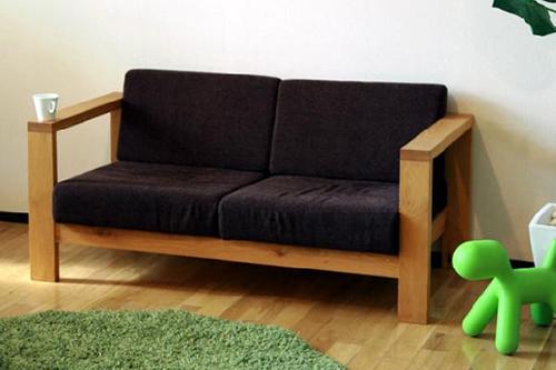木製ソファー5