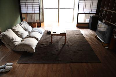 和室の雰囲気にもピッタリな座椅子ソファー