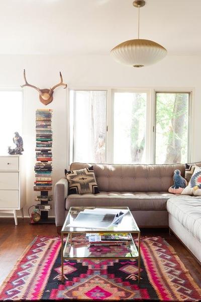 15 - Mesmerizing contemporary kitchen design using the bright wall interior ...