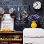 黒板塗料キッチン1
