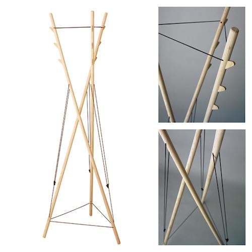 ハンガーラック木製12