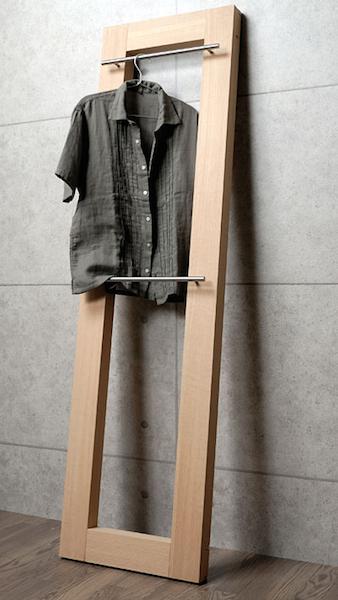 木製ハンガーラック6