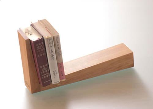 ブックスタンド 木製 ①