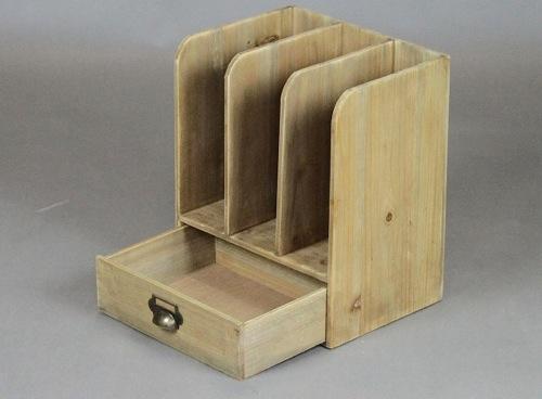 木製ブックスタンド アンティーク