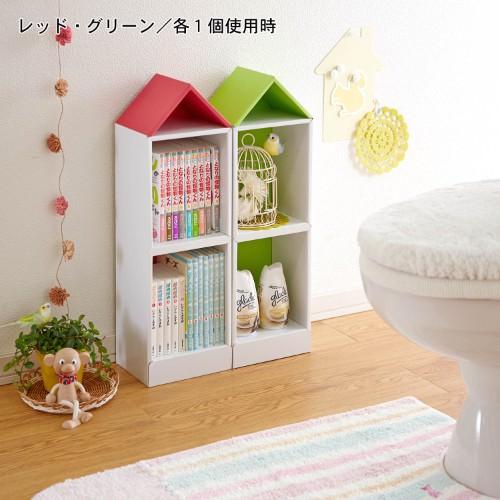 子供本棚 トイレ