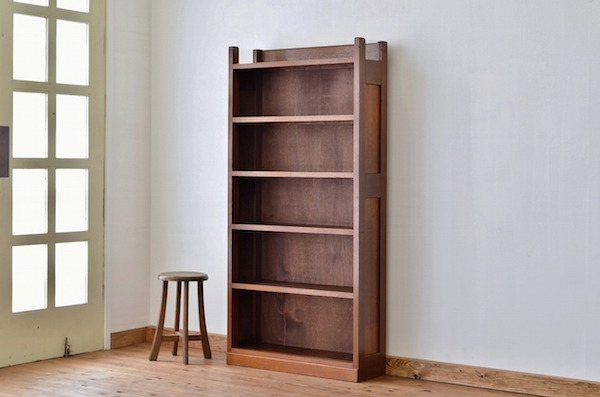 アンティーク 本棚 シンプル
