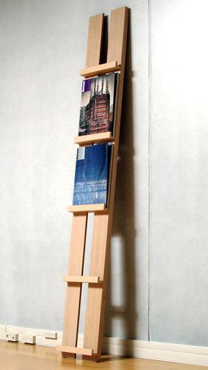 マガジンラック おしゃれ 木製