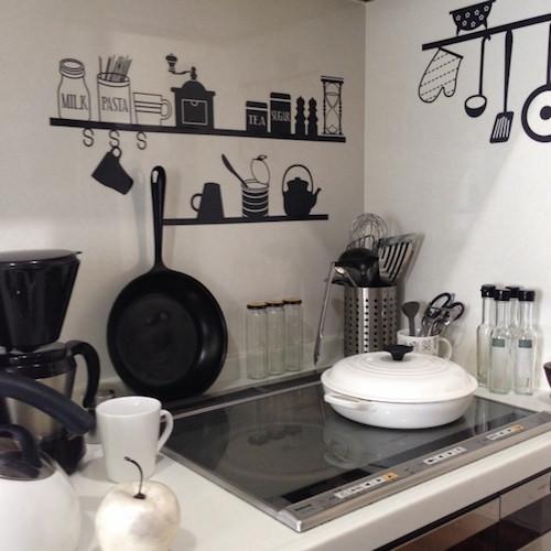 モノトーン インテリア キッチン