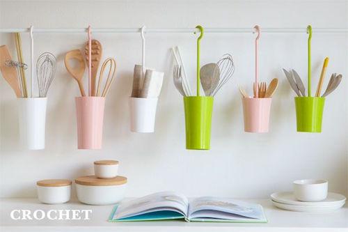 Cutlery hanger