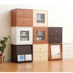 Cube type storage furniture