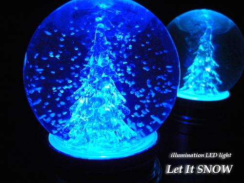 LED snow globe