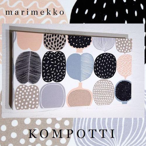 Marimekko fabric panel