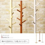 wooden pole stand