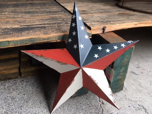 Tinplate Stars and Stripes