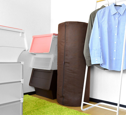 Futon storage case